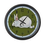 White Rabbit Large Wall Clock