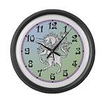 Unicorn Large Wall Clock