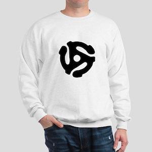45 Record Adapter Sweatshirt