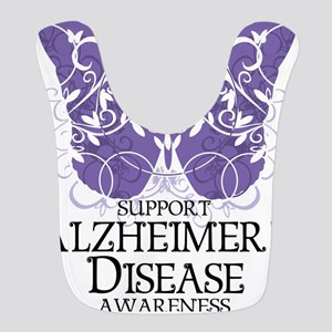 Alzheimers-Butterfly Bib