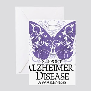 Alzheimers-Butterfly Greeting Card