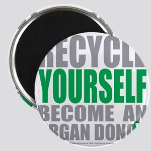 Recycle-Yourself-Organ-Donor Magnet