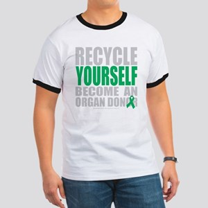 Recycle-Yourself-Organ-Donor-blk Ringer T