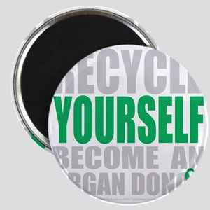 Recycle-Yourself-Organ-Donor-blk Magnet