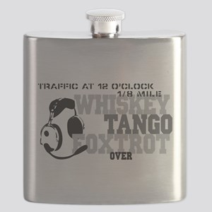 Aviation Humor Flask