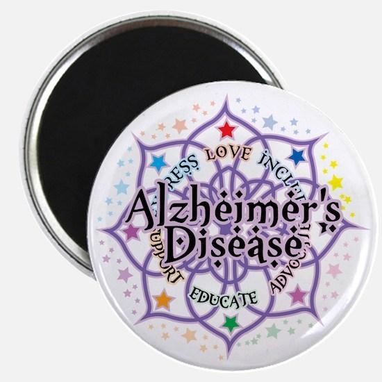 Alzheimers-Lotus Magnet