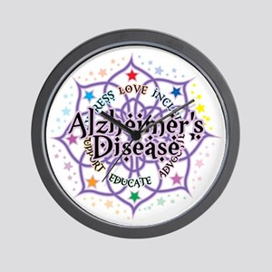 Alzheimers-Lotus Wall Clock