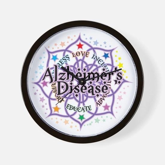 Alzheimers-Lotus Wall Clock