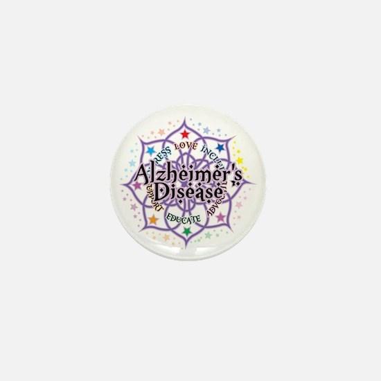 Alzheimers-Lotus Mini Button