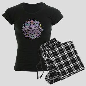 Alzheimers-Lotus Women's Dark Pajamas