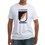 1st Battalion 82nd Aviation Brigade Fitted T-Shirt