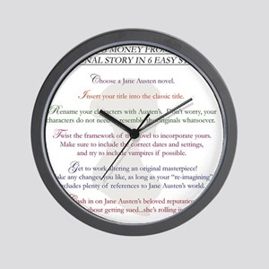 austenlist Wall Clock