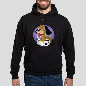 Alzheimers-Dog Hoodie (dark)