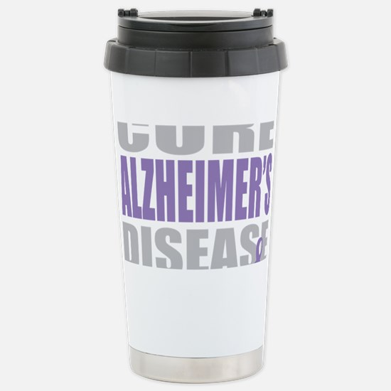 Cure-Alzheimers-2009-blk Stainless Steel Travel Mu