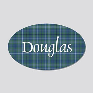 Tartan - Douglas 20x12 Oval Wall Decal