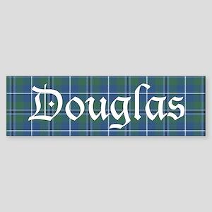 Tartan - Douglas Sticker (Bumper)
