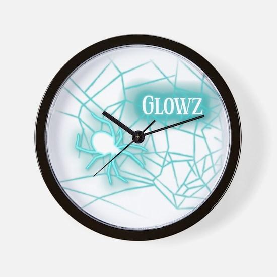 OWLcoholics_Glowz_10x10 copy Wall Clock