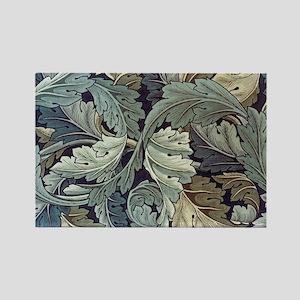 William Morris Acanthus Rectangle Magnet