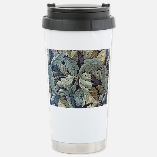 William Morris Acanthus Stainless Steel Travel Mug