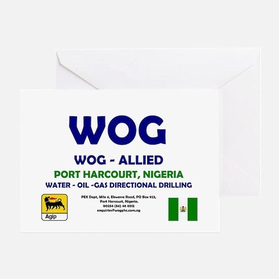 WOG NIGERIA Greeting Card