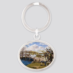 Concord Bridge First Shot Oval Keychain