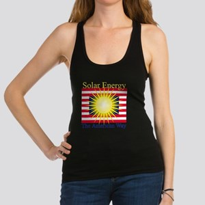 T39a  Solar energy the american Racerback Tank Top