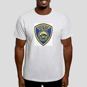 Stockton Police Ash Grey T-Shirt