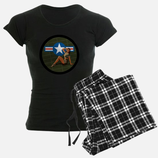 Air Force Pinup Girl Pajamas