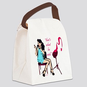 thats_what_he_said_1 Canvas Lunch Bag