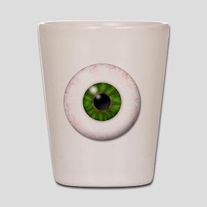 eyeball_greeneye Shot Glass