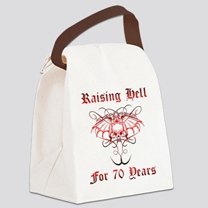 Raising Hell 70 Canvas Lunch Bag