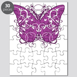 Animal-Abuse-Butterfly-blk Puzzle
