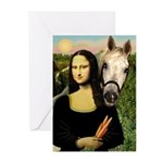 Mona's Arabian Horse (#1) Greeting Cards (Package