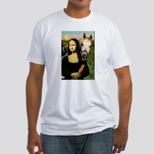 Mona's Arabian Horse (#1) Fitted T-Shirt