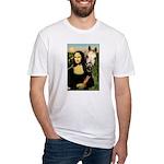 Mona's Arabian Horse (#1) Fitted T-Shirt