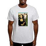 Mona's Arabian Horse (#1) Ash Grey T-Shirt