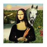 Mona's Arabian Horse (#1) Tile Coaster
