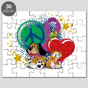 Stop-Animal-Abuse-PLP-blk Puzzle