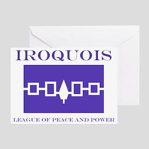 3-IROQUOIS Greeting Card