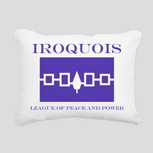 3-IROQUOIS Rectangular Canvas Pillow