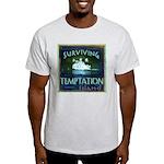 Surviving Temptation Island Ash Grey T-Shirt