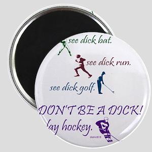 2-baseball_runner_golf_hockey Magnet