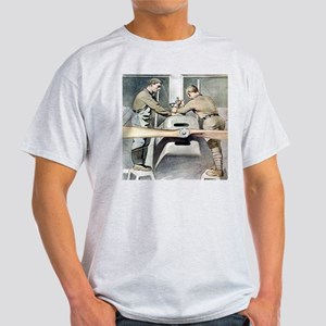 US ARMY Mechanic Ash Grey T-Shirt