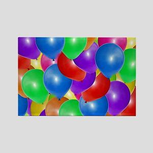 Balloons! Rectangle Magnet