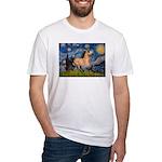 Starry Night Buckskin Fitted T-Shirt