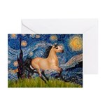 Starry Night Buckskin Greeting Cards (Pk of 10