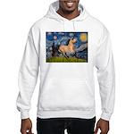 Starry Night Buckskin Hooded Sweatshirt