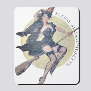 Vintage Salem Witch Mousepad
