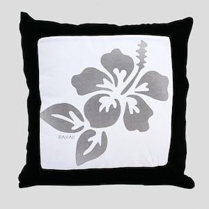 Hawaiian Flower Throw Pillow