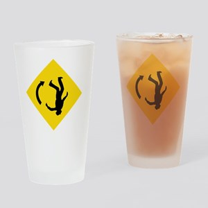 mind-the-gravity4 Drinking Glass